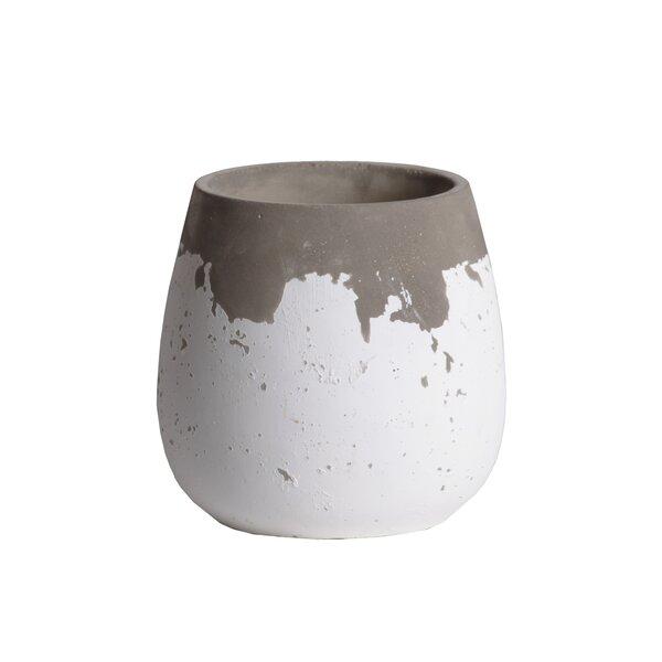 Stevenage Cement Pot Planter by Highland Dunes