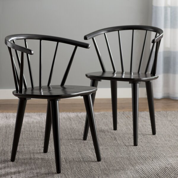 Arielle Arm Chair (Set of 2) by Langley Street