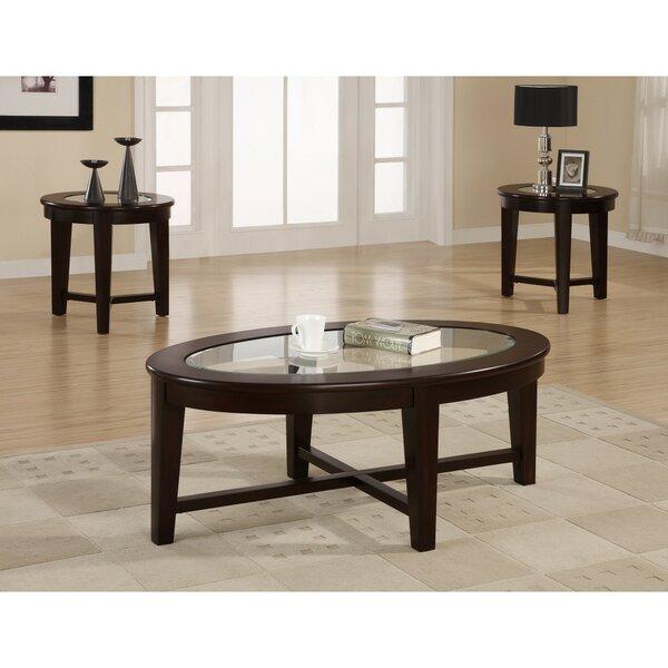 McQuade Lucrative 3 Piece Coffee Table Set By Red Barrel Studio