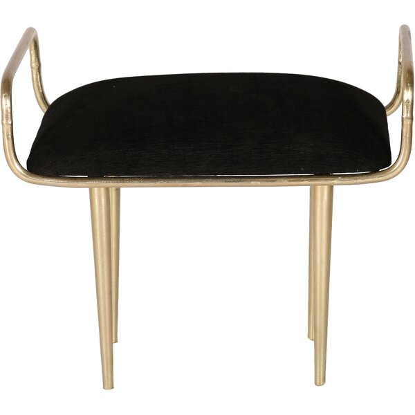 Hemsworth Vanity Stool by Everly Quinn