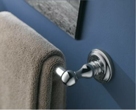 Madison Wall Mounted Towel Bar by Moen