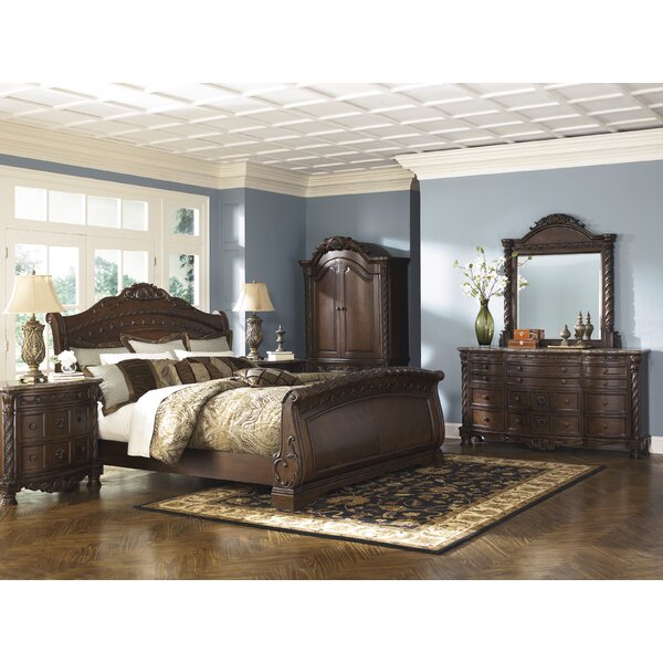 Chapell Sleigh Configurable Bedroom Set by Astoria Grand