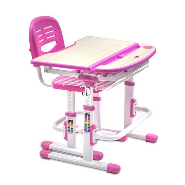 Height Adjustable 28 W Art Desk and Chair Set by Mount-it