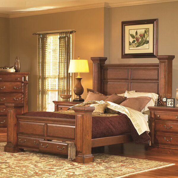 Newark Storage Standard Bed by Fleur De Lis Living