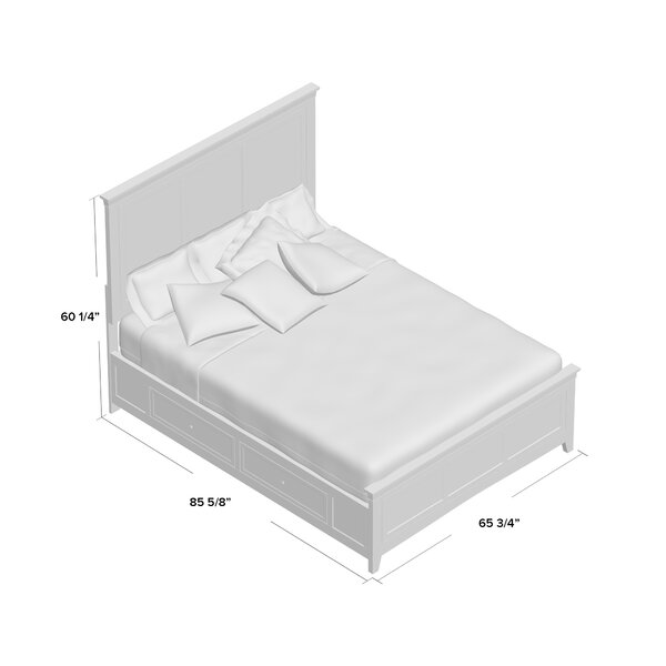 Woodside Standard Bed by Three Posts