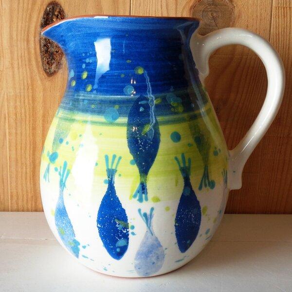 Pescardo Pitcher by Euro Ceramica