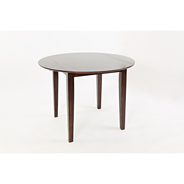 Markowski Contemporary Wooden Drop Leaf Dining Table by Red Barrel Studio