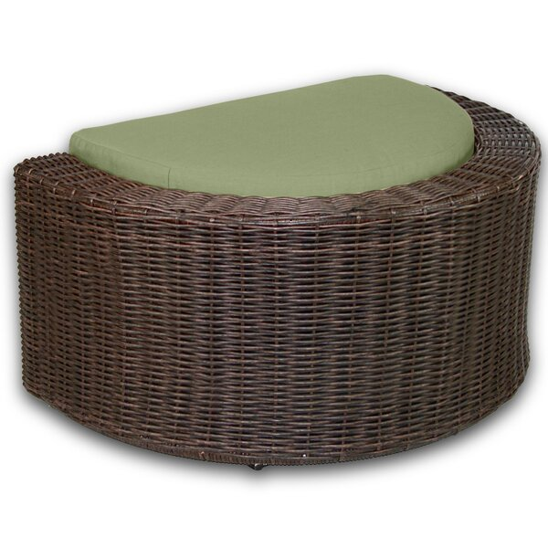 Palomino Outdoor Ottoman with Sunbrella Cushions by Axcss Inc.
