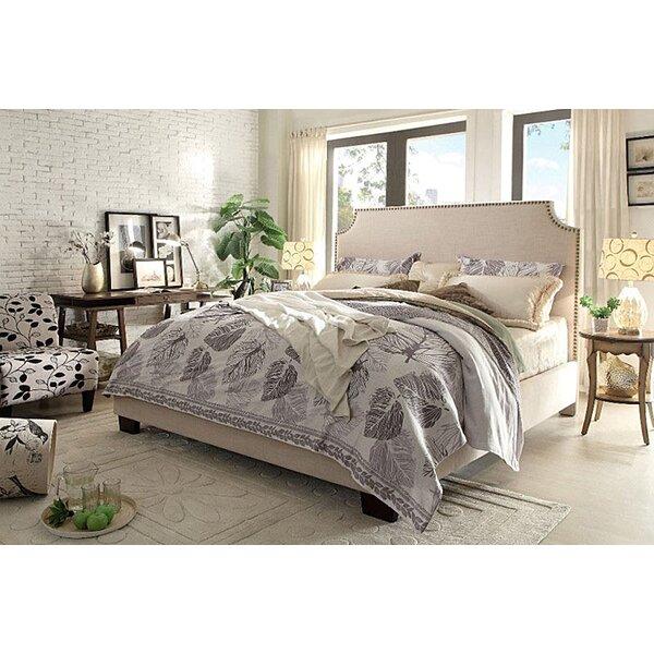 Kingston Upholstered Standard Bed by Diamond Sofa