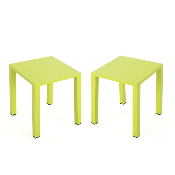 Chilson End Table (Set of 2) by Wrought Studio