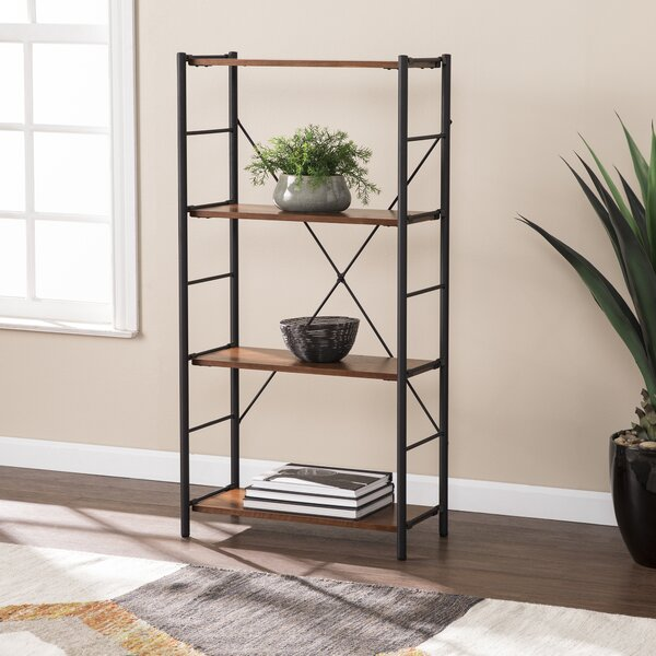 Lundy Two-Tone Etagere Bookcase By 17 Stories