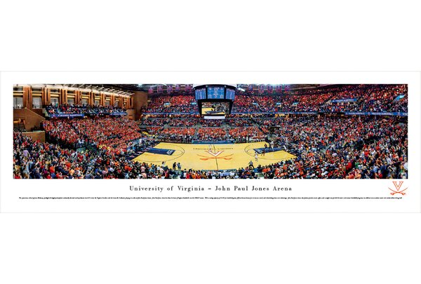 NCAA Virginia, University of - Basketball by James Blakeway Photographic Print by Blakeway Worldwide Panoramas, Inc