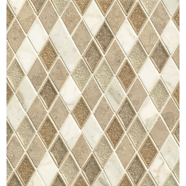 Kismet Stone and Porcelain Mosaic Tile in Serendipity by Bedrosians