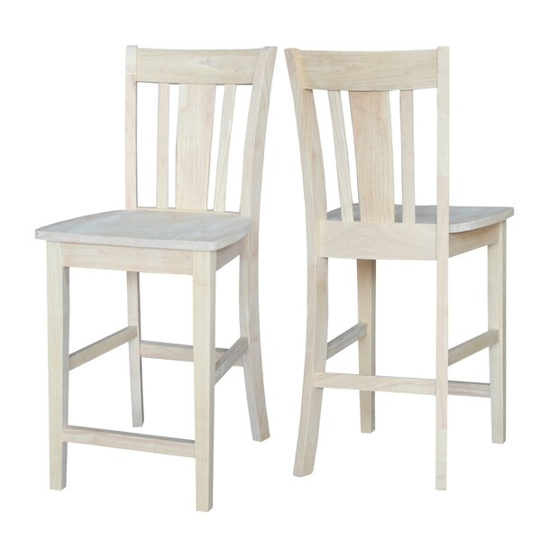 Scofield 24 Bar Stool by Rosecliff Heights
