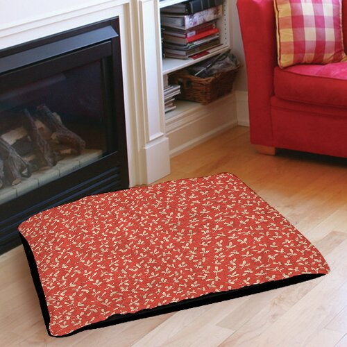 Dream Big Ditsy Florals Indoor/Outdoor Pet Bed by Manual Woodworkers & Weavers