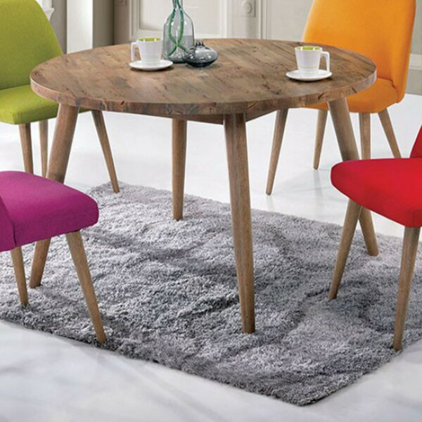 Stimson Mid-Century Modern Dining Table by Wrought Studio