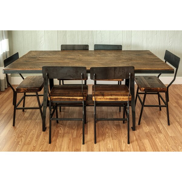 Mitzi 7 Piece Dining Set by Millwood Pines Millwood Pines
