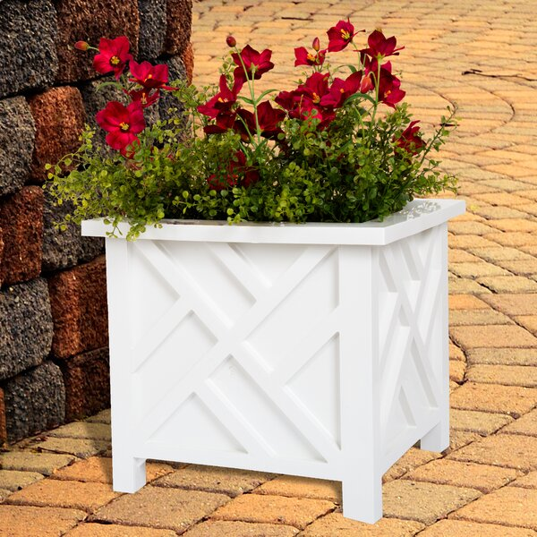 Plastic Planter Box by Pure Garden