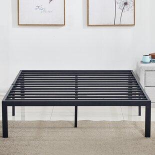 Caenas Heavy Duty Steel Slat Metal Bed Frame