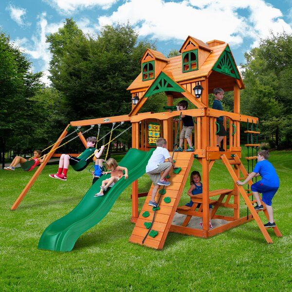 Chateau Swing Set by Gorilla Playsets