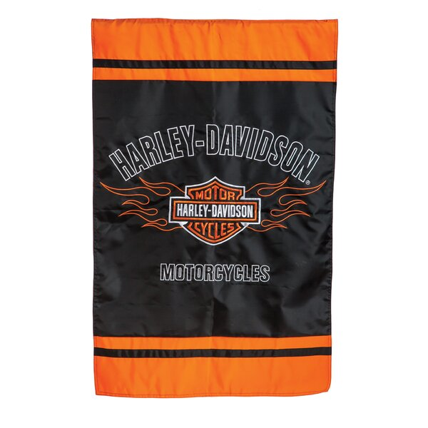 Harley-Davidson® 2-Sided Vertical Flag by Evergre