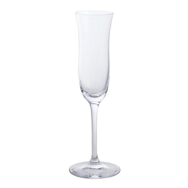 Augill Glass 3.4 oz. Dessert Glass (Set of 4) by Winston Porter