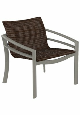 Kor Woven Patio Chair by Tropitone