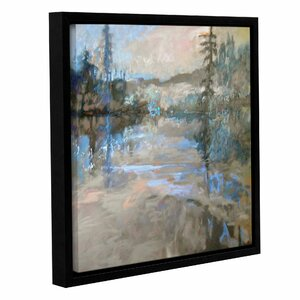 River Framed Painting Print on Canvas by Loon Peak