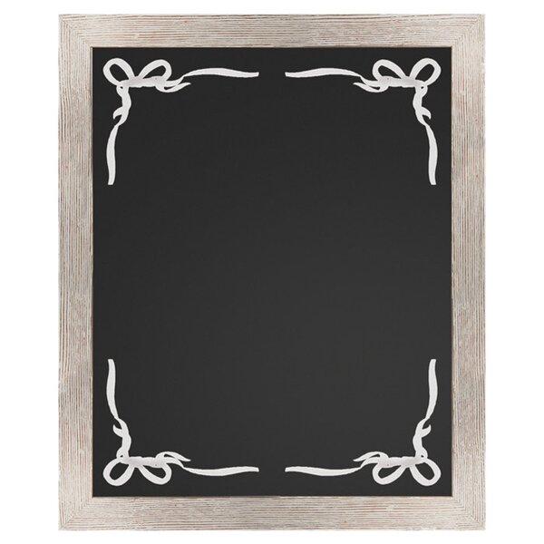 Lily Wall Mounted Chalkboard by PTM Images