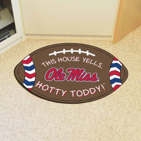 NCAA Ole Miss Southern Football Doormat by FANMATS