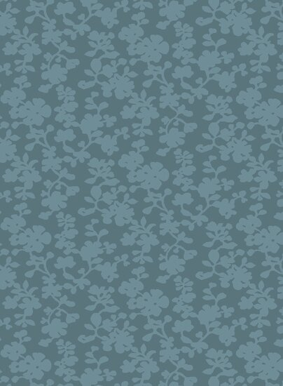 Luminous Sea Blue Floral Area Rug by Candice Olson Rugs