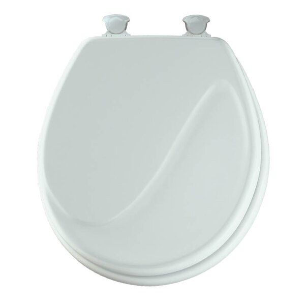 Sculptured Wave Lift-Off Toilet Seat by Mayfair