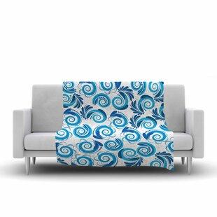 Looking for Maria Bazarova Waves Fleece Blanket ByEast Urban Home