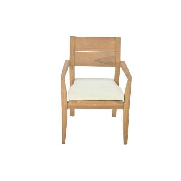 Vellore Stacking Teak Patio Dining Chair by Teak Smith