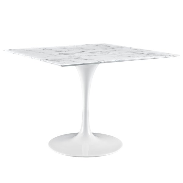 Julien 40 Artificial Marble Dining Table by Langley Street