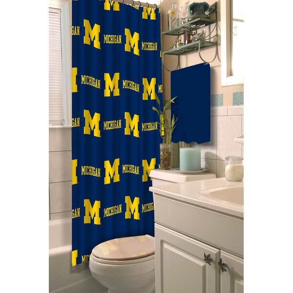 NCAA Shower Curtain by Northwest Co.