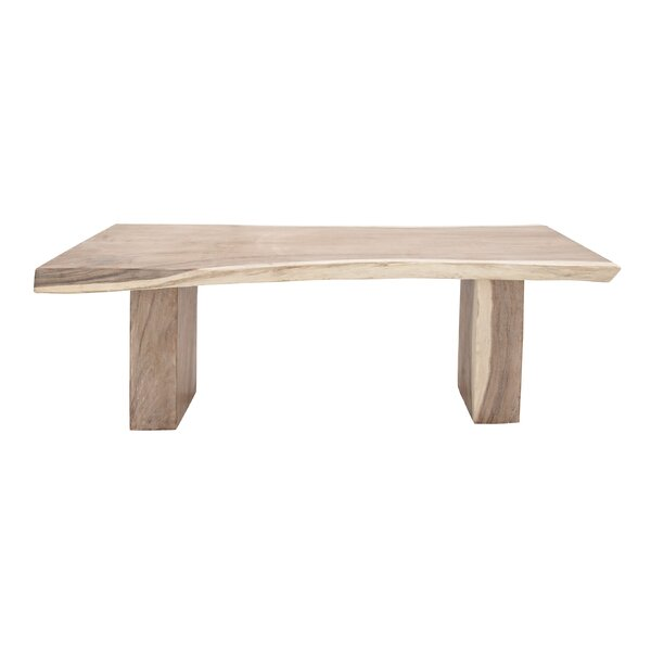 Vizcaino Teak Dinning Table by Union Rustic Union Rustic