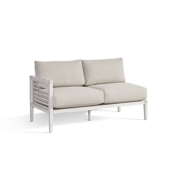 Mciver Patio Sectional with Cushions by Rosecliff Heights
