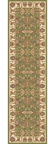 Bellville Green / Ivory Area Rug by Charlton Home