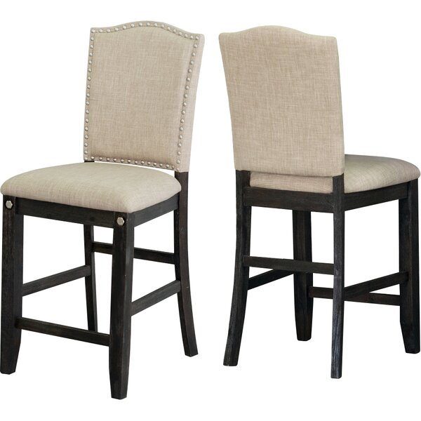 Dysart Counter Height Upholstered Dining Chair (Set of 2) by Darby Home Co