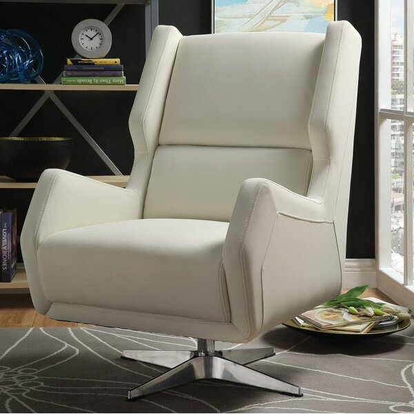 Winningham Swivel Wingback Chair By Orren Ellis 2019 Sale