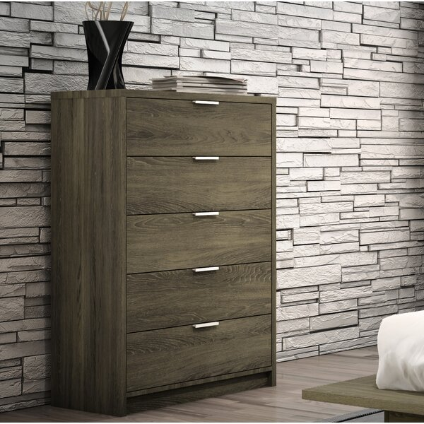 Stromsburg 5 Drawer Chest by Greyleigh