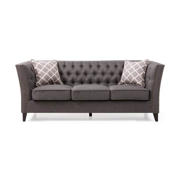 Mcgee Chesterfield Sofa by Canora Grey Canora Grey