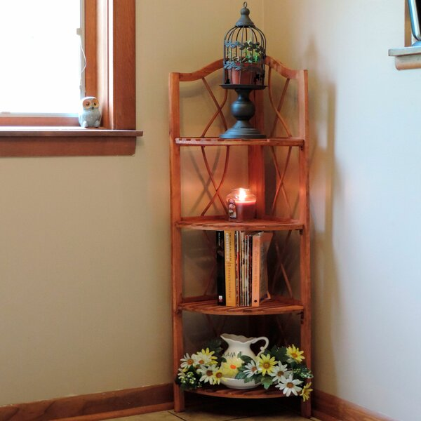 Corner Bookcase By Lavish Home