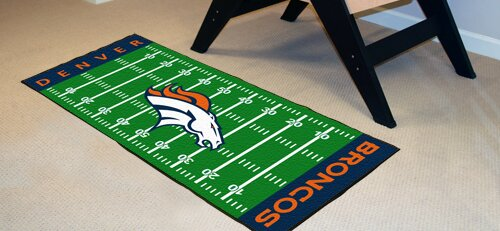 NFL - Denver Broncos Football Field Runner by FANMATS