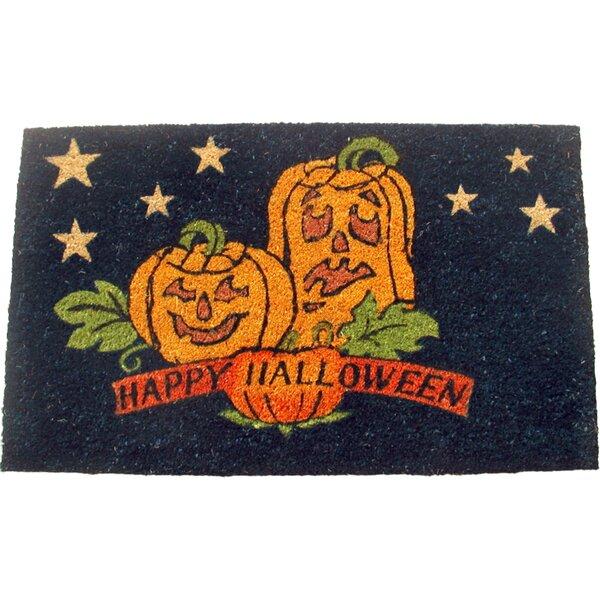 Happy Halloween Doormat by Geo Crafts, Inc