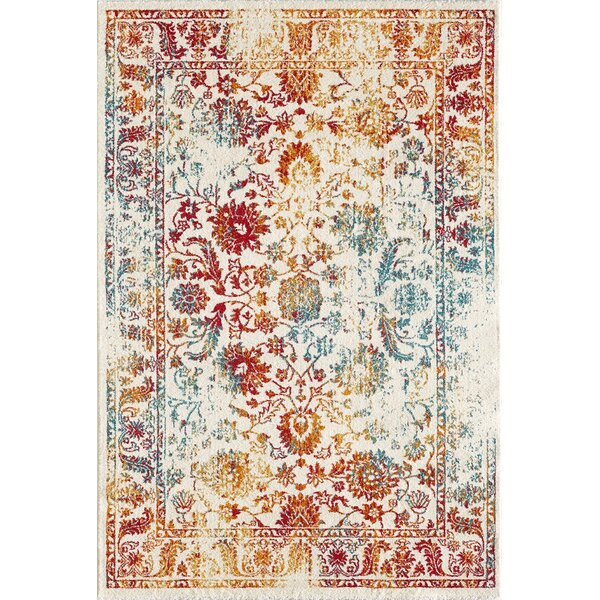 Latitude Vive Red Yellow Blue Area Rug Amp Reviews Wayfair