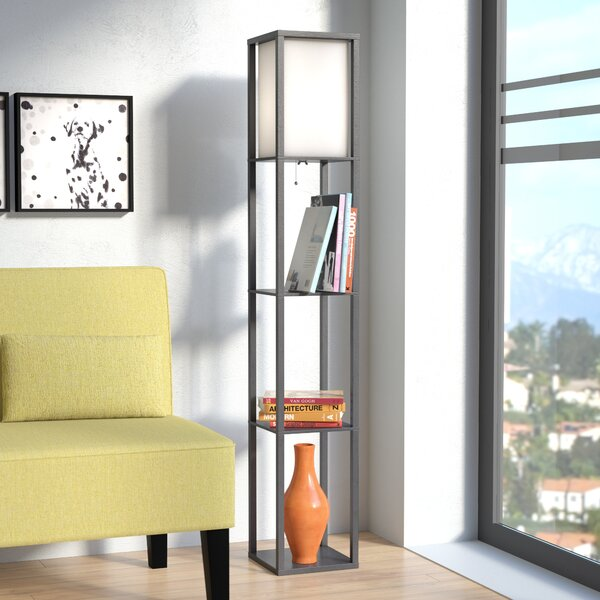 Stefanie 62.8 Column Floor Lamp by Zipcode Design