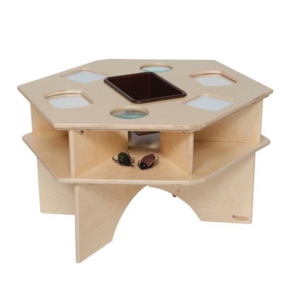 Natural Environment Deluxe Workstation by Wood Designs