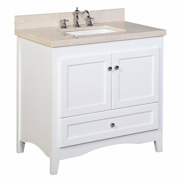 Abbey 36 Single Bathroom Vanity Set by Kitchen Bath Collection